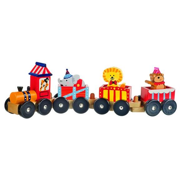 Wooden Childrens Train Toy