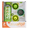 Citrus Zinger Water Bottle Gift Pack with 3 Infusers