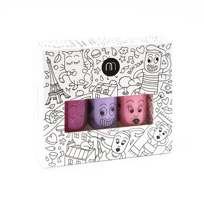 NAILMATIC KIDS WASH OFF NAIL POLISH GIFTSET in City Style