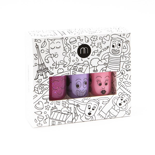 Nailmatic Kids City Nail Polish Giftset