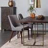 Retro Dark Wood Table