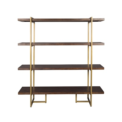 DUTCHBONE CLASS SHELVING UNIT in Retro Herringbone Design