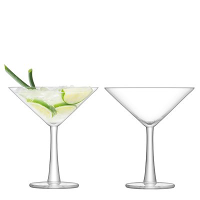 LSA GIN COCKTAIL GLASSES Set of 2