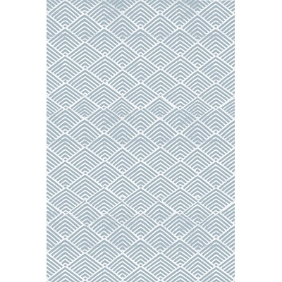 INDOOR OUTDOOR CLEO RUG in Blue