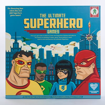 THE ULTIMATE SUPERHERO GAMES Set