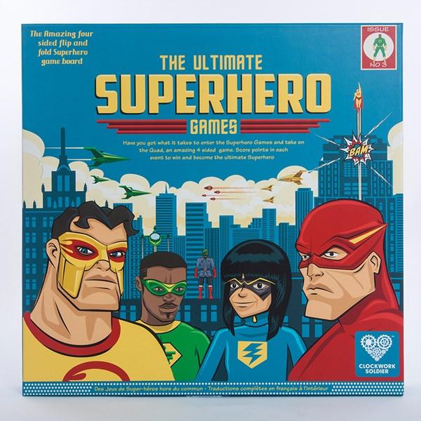 The Ultimate Superhero Game Set