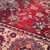 Red and Cream Printed Rug