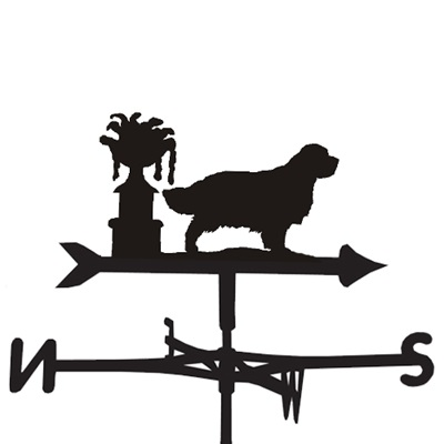 WEATHERVANE in Clumber Spaniel Design