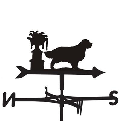 WEATHERVANE in Clumber Spaniel Design