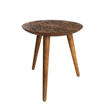 DUTCHBONE BY HAND LARGE SIDE TABLE in Solid Sheesham Wood