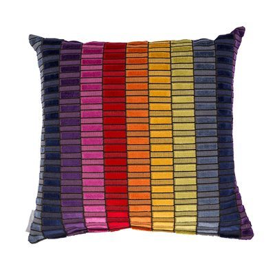 ZUIVER COLOUR BLOCK CUSHION in Multi Colour