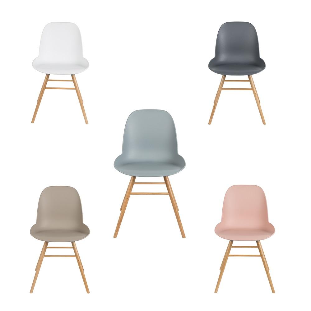 Albert Kuip Retro Dining Chairs In Dark Grey Cuckooland