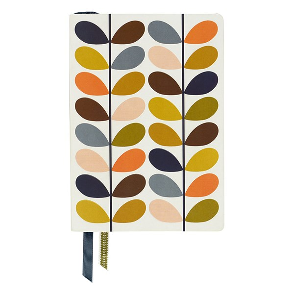 Orla Kiely A5 Notebook in Multi Stem