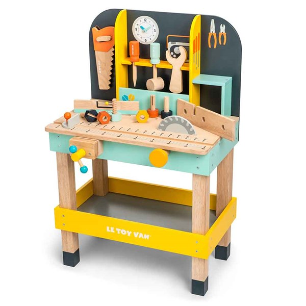 Le Toy Van Alex's Tool Bench with Accessories
