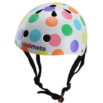 PASTEL DOTTY HELMET by Kiddimoto