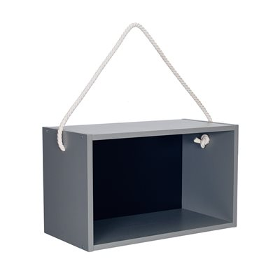 FRAMED WALL SHELF in Blue Grey