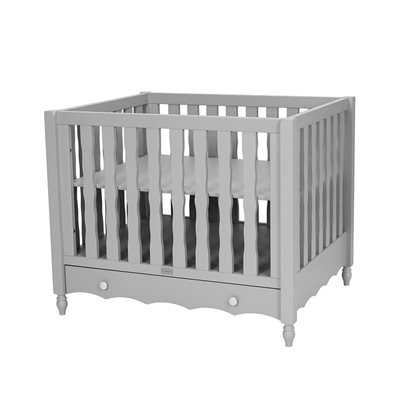 PEBBLES BABY PLAYPEN in Grey