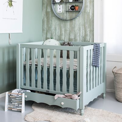 PEBBLES BABY PLAYPEN in Seagreen