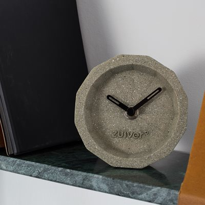 BINK TIME DESK CLOCK in Concrete Finish