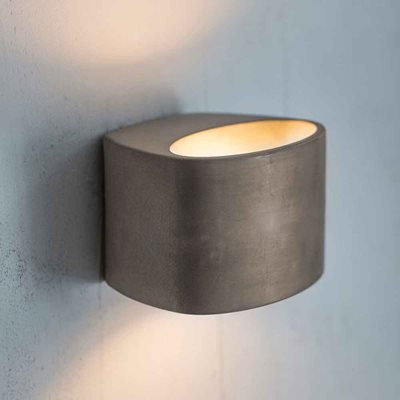 GARDEN TRADING LAMBETH LED WALL LIGHT in Concrete