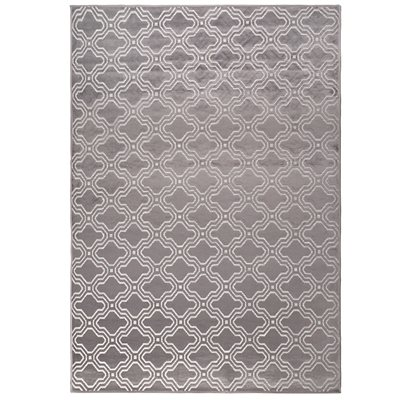 Feike Tile Pattern Rug in Grey