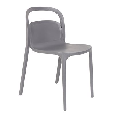 PAIR OF REX DINING CHAIRS in Grey