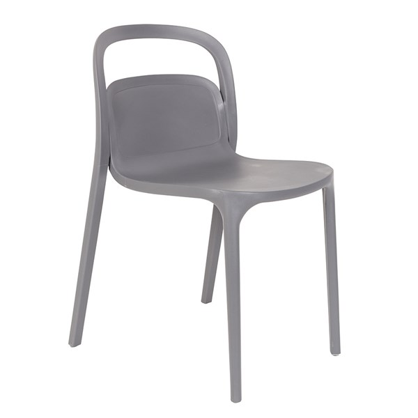 Pair of Rex Dining Chair in Grey