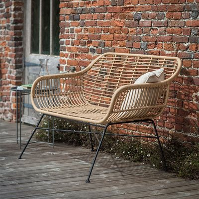 Garden Trading Hampstead Bench in Bamboo