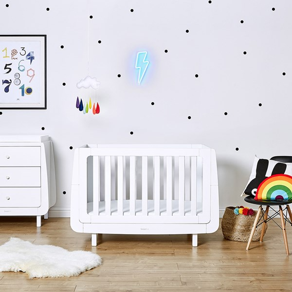 SnuzKot Mode Cot Bed in White
