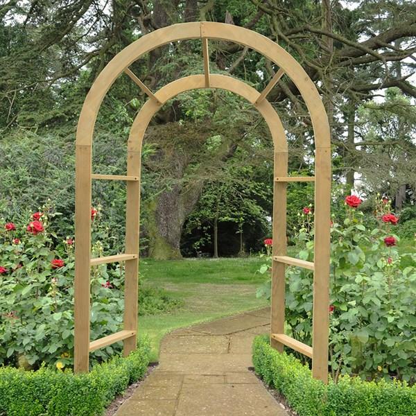 Forest Garden Infinity Arch
