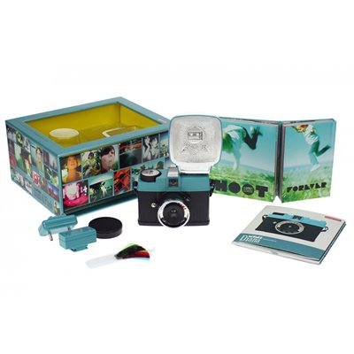 LOMOGRAPHY DIANA MINI CAMERA & FLASH PACKAGE