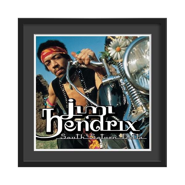 South Saturn Delta Album Print by Jimi Hendrix