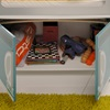 Bonnet Storage for our Single Kids Wagon Bed