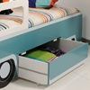 Single Wagon Bed with Drawer