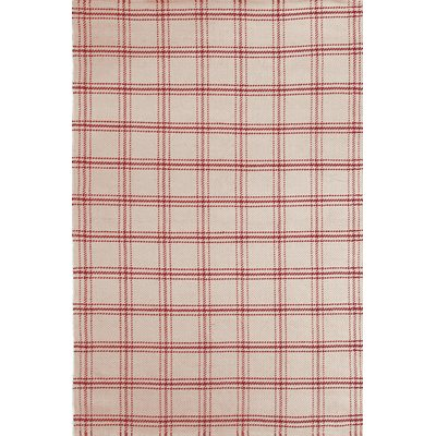 JUTE INDOOR OUTDOOR RUG in Red Cooper Design