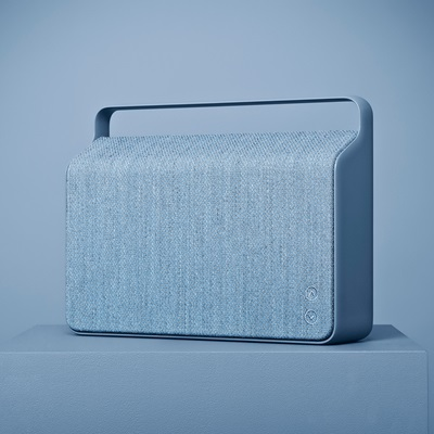 COPENHAGEN WIRELESS SPEAKER in Ocean Blue