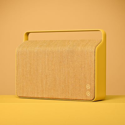 COPENHAGEN WIRELESS SPEAKER in Sand Yellow