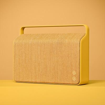 COPENHAGEN WIRELESS SPEAKER in Sand Yellow