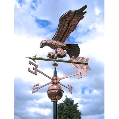 COPPER EAGLE 3D WEATHERVANE