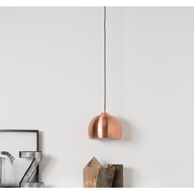 ZUIVER BIG GLOW CEILING LIGHT in Metallic Copper