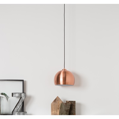 BIG GLOW CEILING LIGHT in Metallic Copper