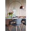 Copper Plated Designer Floor Lamp