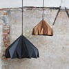 Hanging Lamp in Matte Copper Effect