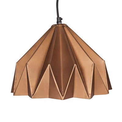 CREASE HANGING LAMP in Copper