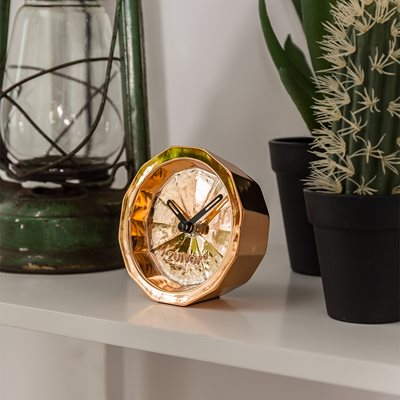 BINK TIME DESK CLOCK in Copper