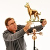 Copper Dog 3D Weathervanes