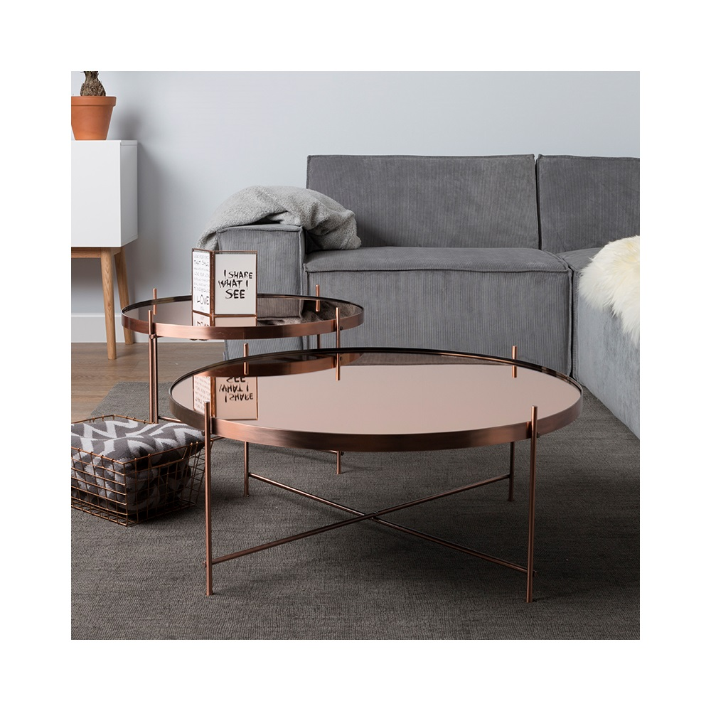 Gold Metallic Coffee Table Accent Tables Living Room