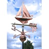 Sailboat Weathervane in Copper 3D Design