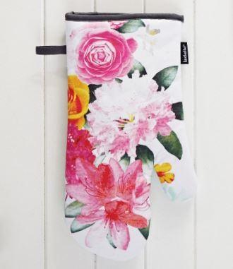 CORA OVEN MITT in Floral Design