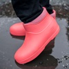 Nordic Grip Non Slip Boots in Coral Pink